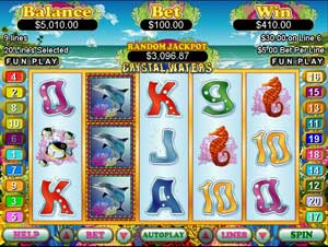 Crystal Water Slot